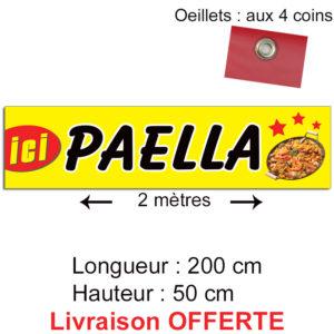 Banderole paella