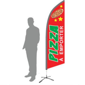 drapeau pizza emporter