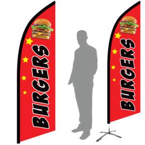 drapeau burger hamburger